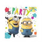 Despicable Me Minion Made 2 Ply Luncheon Napkins Pack of 16_thumb.jpg