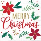Christmas Wishes Merry Christmas Lunch Napkins Pack of 16_thumb.jpg