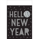 Disco Ball Drop Hello New Year Plastic Tablecover_thumb.jpg