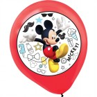 Mickey Mouse On the Go 30cm Latex Balloons Pack of 6_thumb.jpg
