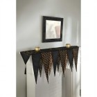 Halloween Mantle Table Runner Scarf Fabric Glitter Decoration_thumb.jpg