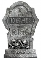 The Dead Will Rise Tombstone Halloween Prop_thumb.jpg