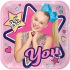 JoJo Siwa Square Paper Luncheon Plates Pack of 8_thumb.jpg