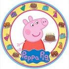 Peppa Pig Round Paper Dinner Plates Pack of 8_thumb.jpg