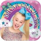 JoJo Siwa Square Paper Dinner Plates Pack of 8_thumb.jpg