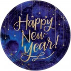 Midnight New Year's Eve 26cm Round Banquet Plates Pack of 8_thumb.jpg