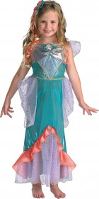 The Little Mermaid Ariel Deluxe Toddler / Child Girl's Costume_thumb.jpg