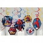 Spider-Man Webbed Hanging Swirl Decorations Value Pack of 12_thumb.jpg