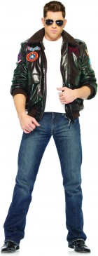 Top Gun Bomber Jacket Adult Costume (Male)_thumb.jpg