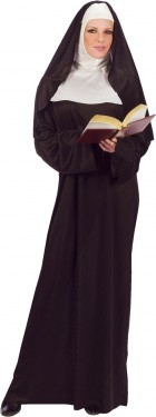 Nun Adult Women's Costume One Size_thumb.jpg