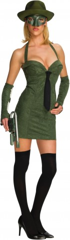 Sexy Green Hornet Adult Women's Costume_thumb.jpg