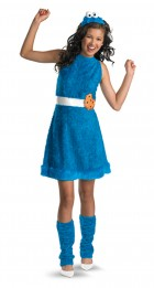 Sesame Street Cookie Monster Child / Tween Girl's Costume_thumb.jpg