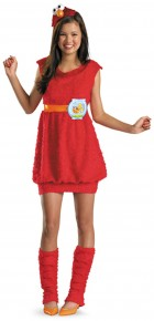 Sesame Street Elmo Child / Tween Girl's Costume_thumb.jpg