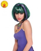 Green and Purple Bob Adult Wig_thumb.jpg