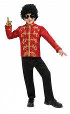 Michael Jackson Deluxe Red Military Jacket Child_thumb.jpg
