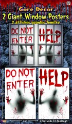 Bloody Window Posters 2 pack Halloween Decoration _thumb.jpg