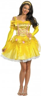 Beauty And The Beast - Sassy Belle Adult Womenu0027s Costume  sc 1 st  Costumes.com.au & Adult Beauty and the Beast Costumes | Costumes.com.au