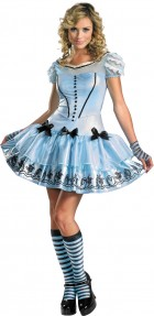 Alice In Wonderland Movie - Sassy Blue Dress Alice Adult Women's Costume_thumb.jpg
