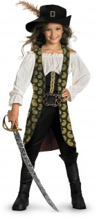 Pirates of the Caribbean 4 On Stranger Tides Angelica Deluxe Child Girl's Costume_thumb.jpg