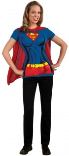 Supergirl T-Shirt Adult Women's Costume Kit_thumb.jpg