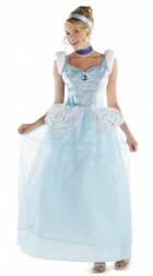 Cinderella Deluxe Adult Plus Women's Costume_thumb.jpg