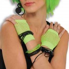 Fingerless Fishnet Gloves Costume Accessory Green_thumb.jpg