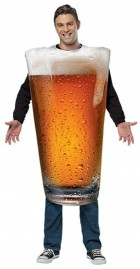 Pint Glass Beer Adult Costume