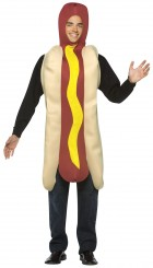 Light Weight Hot Dog Adult Costume One Size_thumb.jpg
