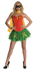Dc Comics Secret Wishes Robin Corset Adult Costume_thumb.jpg