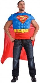 DC Comics Superman Muscle Chest Adult Costume Kit_thumb.jpg