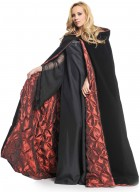 Deluxe Velvet Satin Embossed Lining 63in Adult Cape_thumb.jpg