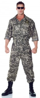 U.S. Army Jumpsuit Adult Plus Costume_thumb.jpg