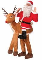 Santa Riding On Reindeer Adult Christmas Ride On Costume_thumb.jpg