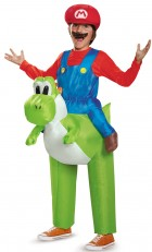 Super Mario Bros: Mario Riding Yoshi Inflatable Child Costume_thumb.jpg