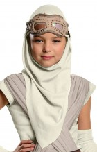 Star Wars Episode 7 The Force Awakens Rey Child Girl's Eye Mask With Hood Costume Accessory_thumb.jpg