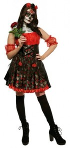 Red Rose Day of the Dead Adult Costume_thumb.jpg