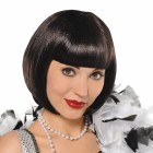 Roaring 20's Black Flapper Wig Adult Costume Accessory_thumb.jpg