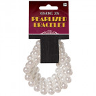 Roaring 20's Faux Pearl Elasticated Bracelet Adult Costume Accessory_thumb.jpg