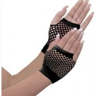 Awesome 80's Black Fishnet Adult Gloves_thumb.jpg
