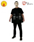 V for Vendetta T-Shirt Adult Costume Kit Standard_thumb.jpg