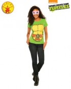 Teenage Mutant Ninja Turtles Donatello Ladies T-Shirt Adult Costume_thumb.jpg