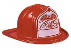 Fire Fighter Chief Red Hat Adult Fireman Costume Accessory_thumb.jpg