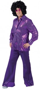 Men's Disco Pants Adult Costume Large_thumb.jpg