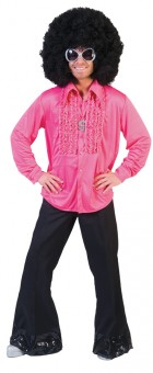Saturday Night Adult 1970s Retro Disco Shirt Pink _thumb.jpg