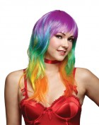 Rainbow Multi Color Party Wig Women's Costume Accessory_thumb.jpg