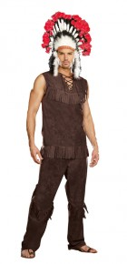 Chief Long Arrow Native American Indian Adult Men's Costume_thumb.jpg