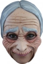 Old Lady Chinless Women's Scary Costume Mask_thumb.jpg