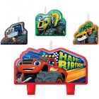 Blaze and the Monster Machines Happy Birthday Mini Moulded Candle Pack of 4_thumb.jpg