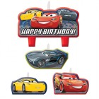 Cars 3 Happy Birthday Mini Moulded Candle Pack of 4_thumb.jpg