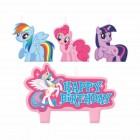 My Little Pony Happy Birthday Mini Moulded Candles Pack of 4_thumb.jpg
